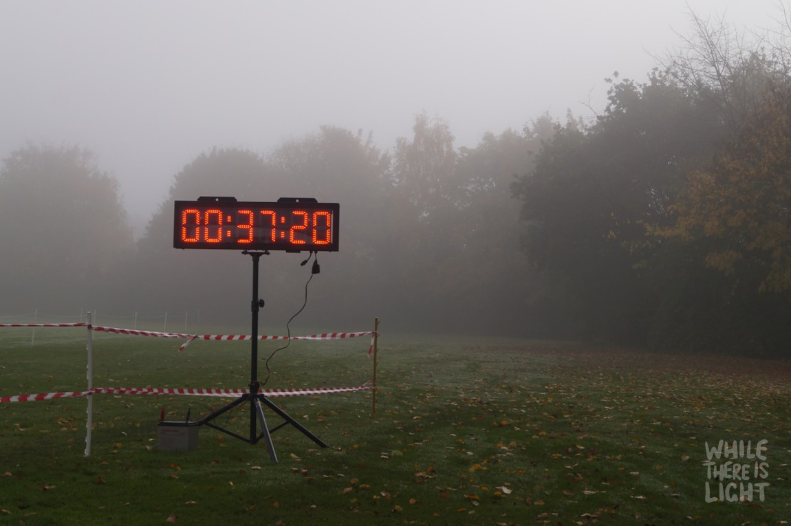 lode half marathon digital timer