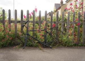 cambridge junc photozine discarded bike