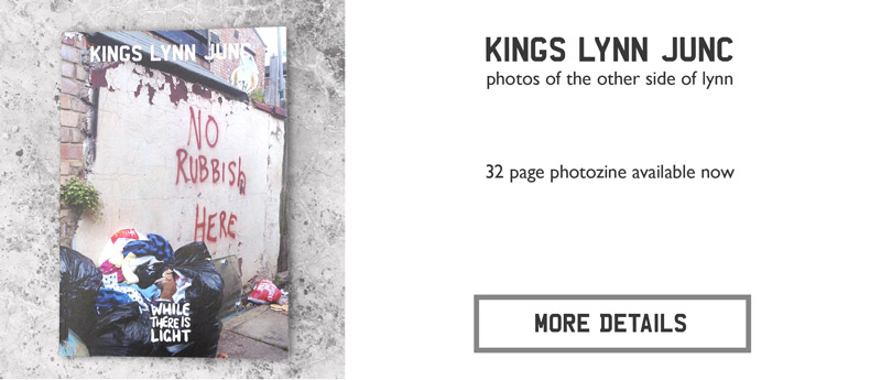 kings lynn junc photozine advert