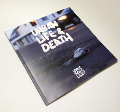 urban life & death photobook cover