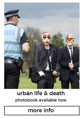 urban life & death photobook