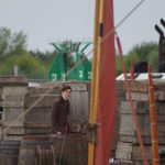 An extra on the set of 'The Personal History of David Copperfield' in King's Lynn