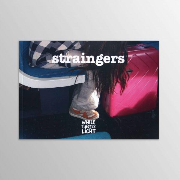 straingers 'train strangers' photobook cover